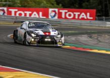 Con Lexus F alla 24 Ore di Spa Francorchamps