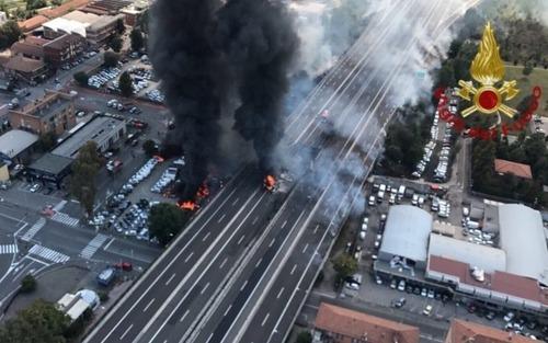 Incidente Bologna, Viabilità Alternativa: Raccordo A1-A14 chiuso