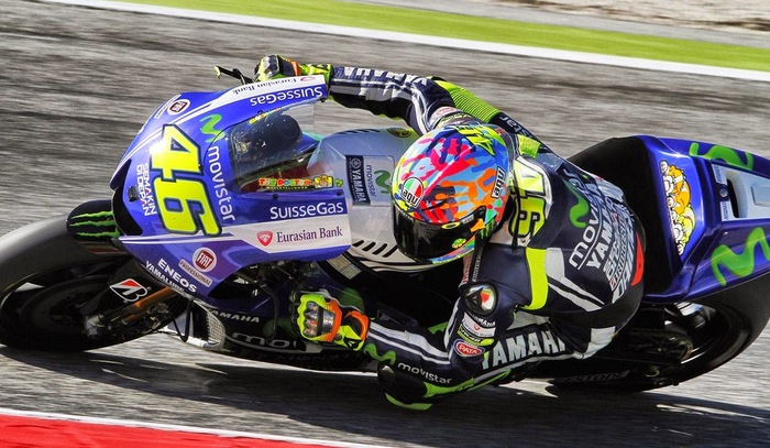 Rossi a Misano 2014