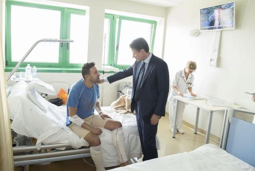 Incidente Bologna, Conte: «Dobbiamo prevenire altre tragedie come questa» (7)