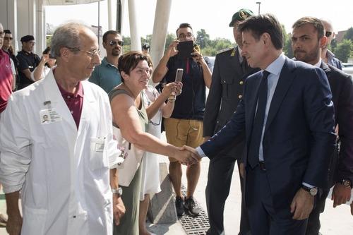 Incidente Bologna, Conte: «Dobbiamo prevenire altre tragedie come questa» (8)