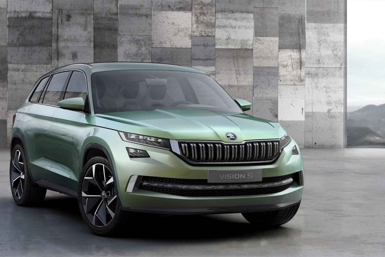 VisionS Concept: così sarà il SUV ibrido di Skoda