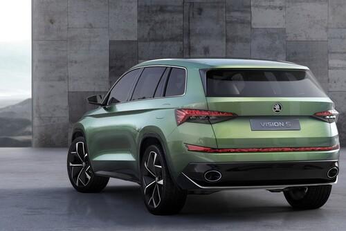 VisionS Concept: così sarà il SUV ibrido di Skoda (2)