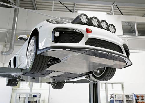 Porsche Cayman GT4 Clubsport Rally Concept, Cayman da rally (2)