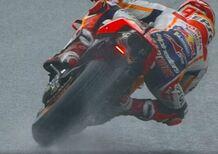 MotoGP 2018. GP d'Austria, FP2: Marquez è più forte della pioggia