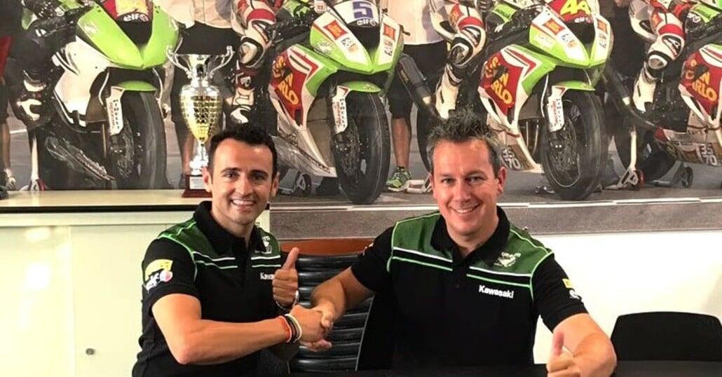 Barberà in Supersport con il team Puccetti