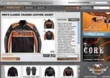Nasce il minisito della collezione Harley MotorClothes