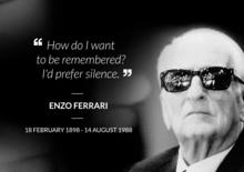 Enzo Ferrari, il ricordo 30 anni dopo