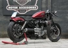 Cafe racer made in Harley-Davidson Pavia