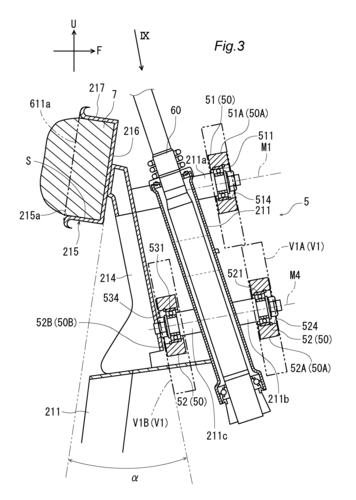 L'Airbag per scooter e i brevetti Yamaha (5)