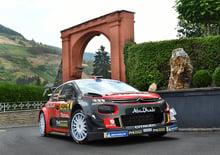 WRC 2018/Citroen. Germania 1. La pista tedesca confonde le C3 WRC