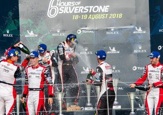 6 ore Silverstone: vittoria Toyota/Alonso annullata, trionfo Rebellion