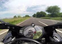 Una Yamaha R1 sulle autostrade tedesche