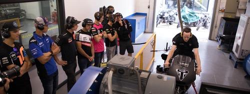 Triumph Moto2 a Silverstone con James Toseland (8)