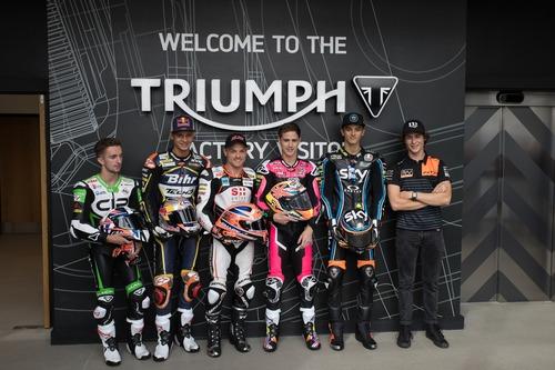 Triumph Moto2 a Silverstone con James Toseland (3)