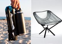 Go Chair, la sedia ideale per il campeggio in moto