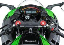 Kawasaki ZX-10R 2016, richiamo ammortizzatore sterzo