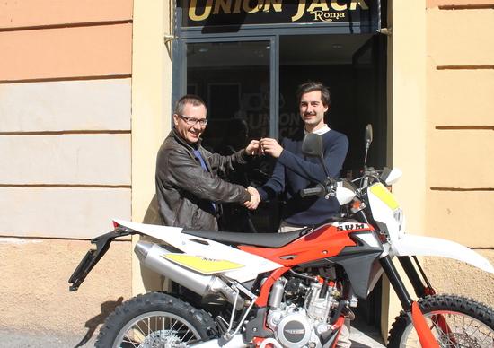Consegnata a Roma la prima SWM RS 300 R