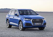 Audi Q7, arrivano i TDI 3.0 mild hybrid