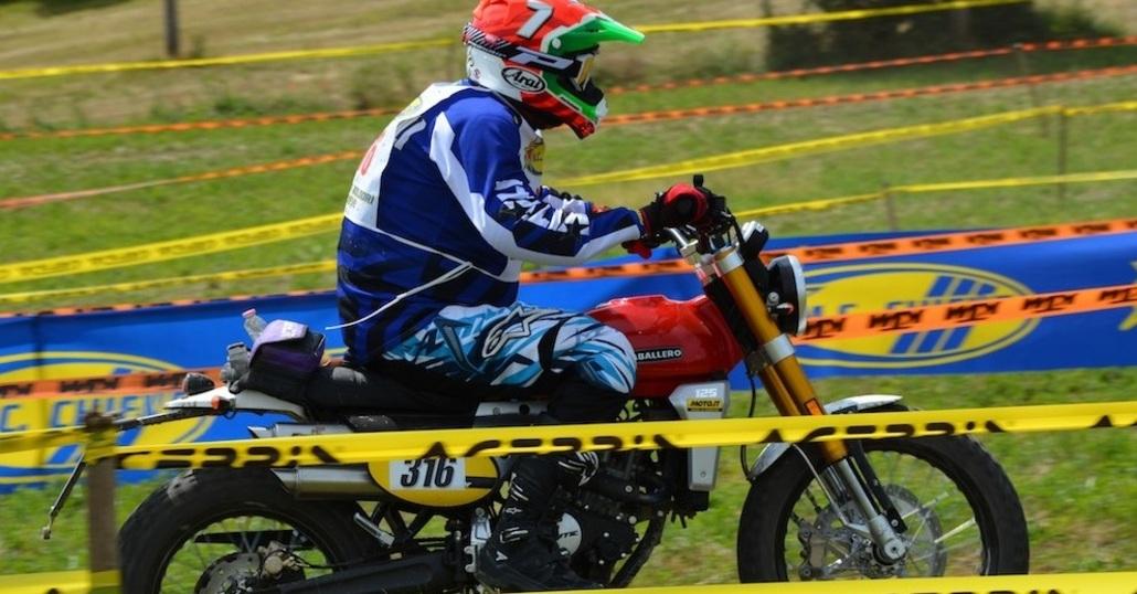 Moto.it al Trofeo Italiano Scrambler con Gualtiero Brissoni in sella alla nuova Caballero 250