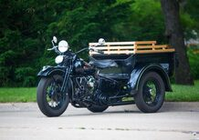 Harley-Davidson Servi-Car 1947 all'asta