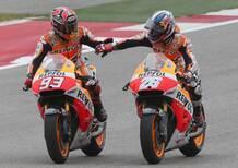 I piloti della MotoGP in visita al Papa