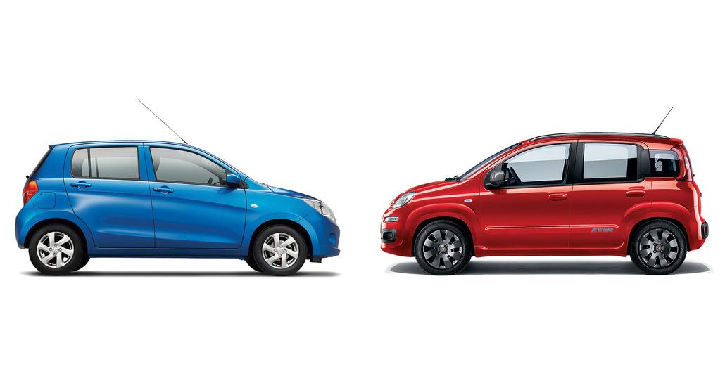 Quale comprare, Confronto: Fiat Panda 1.2 Vs Suzuki Celerio 1.0 Easy