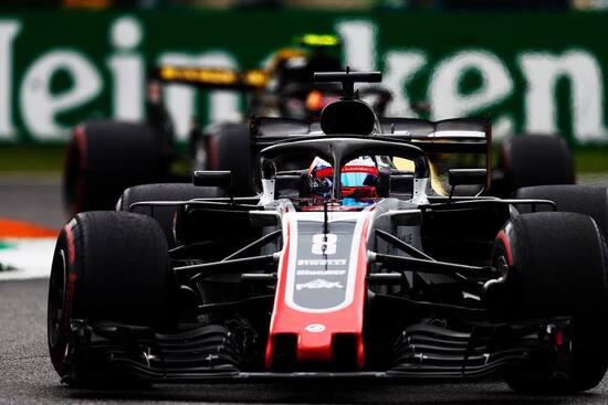 Squalificato dopo la gara Romain Grosjean, sesto al traguardo