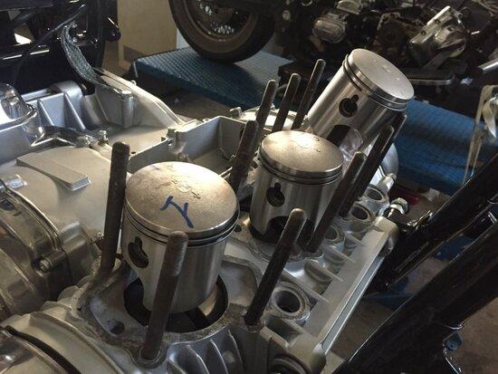 Il dettaglio del motore