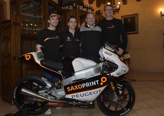 Peugeot debutta in Moto3