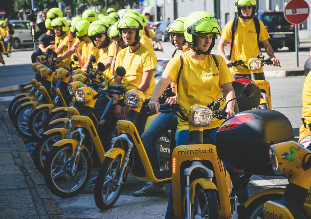 E-scooter sharing. MiMoto sbarca a Torino