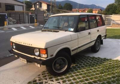 Range Rover LHML Kestrel d'epoca del 1988 a Ardesio