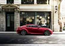 Lexus RC coupé, debutterà al Salone di Parigi 2018 [Foto]