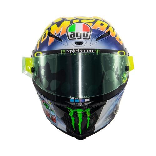 MotoGP 2018. GP Misano, il casco di Valentino (7)