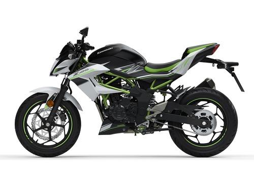 Kawasaki Ninja 125 e Z125: prime foto e dati (7)