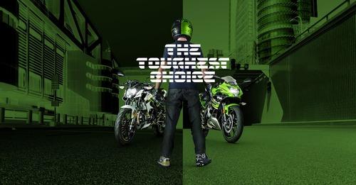 Kawasaki Ninja 125 e Z125: prime foto e dati (8)