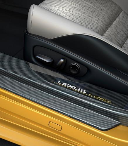 Lexus LC Hybrid, arriva la Yellow Edition (3)