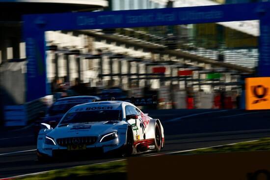 Di Resta in pista al Nürburgring