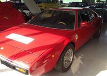 Ferrari Dino 208 GT/4 Coupé Dino 208 GT/4 del 1976 usata a Altare