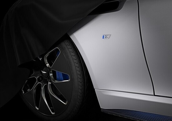 Aston MartinRapid E: sportiva con anima elettrica