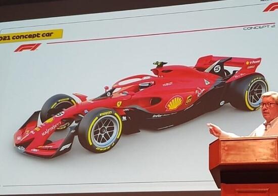 F1, una concept anticipa le monoposto per la stagione 2021