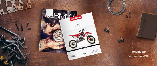 A settembre Motocross è in edicola con AboutBMW a soli 8 euro