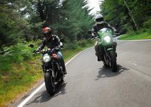 Kawasaki Z 900RS e Z 900RS CAFE: sfida in famiglia