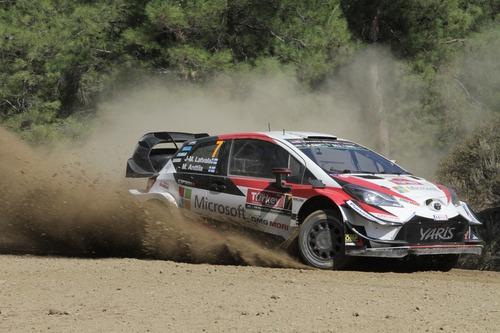 WRC18 Turchia Western 2… Suona la Campana di Tanak (Toyota) (3)