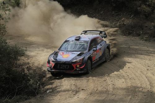 WRC18 Turchia Western 2… Suona la Campana di Tanak (Toyota) (9)