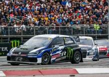 WRX 2018, Lettonia: K-8, Kristoffersson e Volkswagen 8° episodio