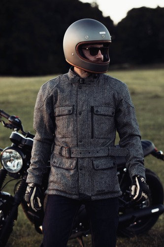 La giacca tecnica in tweed DGR Digby