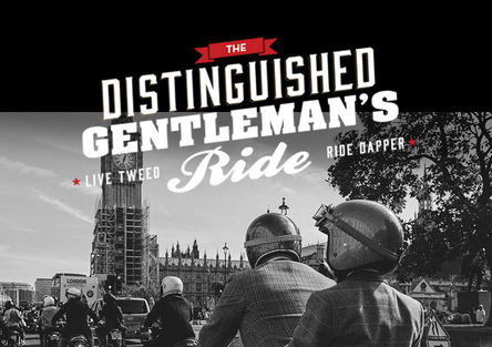Distinguished Gentleman's Ride: Moto.it e Triumph insieme per beneficenza