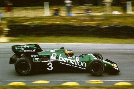 "La Tyrrell Benetton 012 ""Boomerang"""