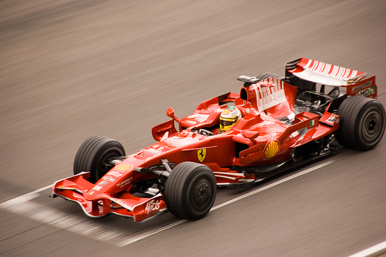 La Ferrari F2008